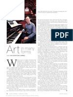 Australian composer Julian Cochran. Art in many forms