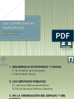 Competencias Municipales