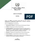 01. Ley Aduanera Nacional
