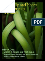 Close-Up and Macro Photography - A Primer - book one