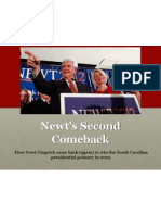 Newt Gingrich Comeback Analysis