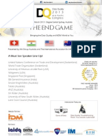 Data Quality Asia Pacific 2013 - The End Game