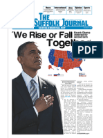 The Suffolk Journal Election Issue 2012
