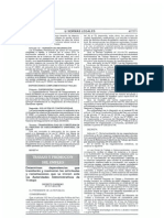 Decreto Supremo N° 017-2012-TR - Establecen competencias de las dependencias de la Autoridad Administrativa de Trabajo