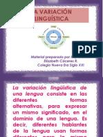 ppt variables lingüísticas