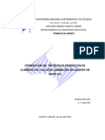 Optimizacion Proceso Produccion Cilindros Taller Laminacion Caliente