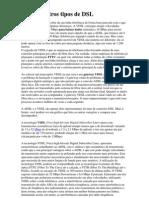 VDSL e Outros Tipos de DSL