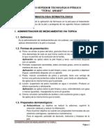 FARAMACOLOGIA dermatologica