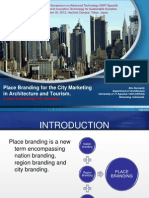 Place Branding for the City Marketing