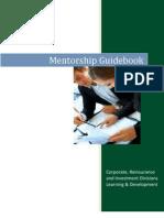 Mentorship Guidebook