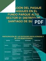 Ampliacion de Pasaje en Surco Lima