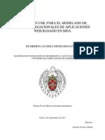 Extension Uml Para El Modelado de Mapas Navegacionales d e Aplicaciones Web Basado en Mda