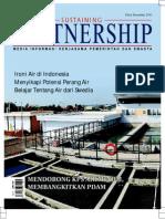 Kebutuhan Air Bersih. Sustaining Partnership. Media Informasi Kerjasama Pemerintah dan Swasta. Desember 2011