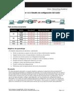 Práctica de laboratorio 1.5.3 Desafío de configuración del router