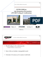 CETECOM - Module Integration Presentation