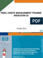 Final Check 1
