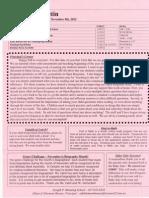 Manning Bulletin November 2012