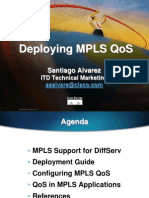 Deploying MPLS QoS