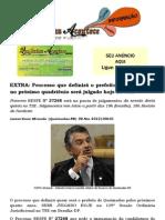 EXTRA Processo que definirá o prefeito de Queimadas no próximo quadriênio será julgado hoje no TSE