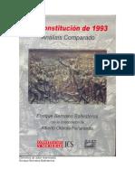 Constitución Peruana de 1993-Análisis comparado-Enrique Bernales Ballesteros