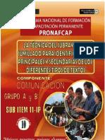 Pronafcap 2009 Tecnica Del Subrrayado y Sumillado