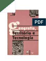 Geografia, território e tecnologia