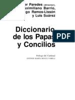 Diccionario de Papas y Concilios