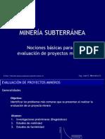 3 Nociones Basicas Evaluacion Proyectos Mineros-V3