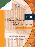 Dominican Republic Plan Decenal 2008-2018