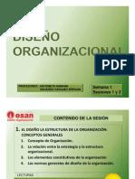 Semana 1 El Diseno de La Estructura de La Organizacion Conceptos Generales