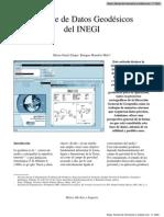 La Base de Datos Geodesicos Del INEGI en Rev Notas No 17 p11