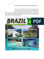 Best Holidays in Brazil Tour Attractions