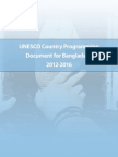 UNESCO Country Programming Document for Bangladesh