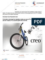 Installationsguide Creoparametric Eng