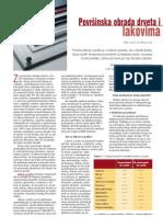 Povrsinska Obarda Drveta Lakovima i Sl