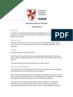 Arbitration Accelerated Membership Programme