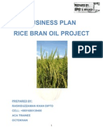 Business Plan Rice Bran