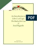 Israel Regardie Introduction to Liber Legis Israel Regardie