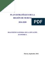 Plan Estrategico de La Region de Murcia 2014-2020