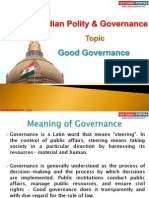 15(B) Good Governance