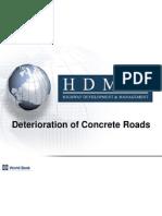 06HDM-4DeteriorationConcreteRoads2008-10-22