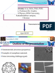 SRM University Nano Materials