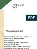 Material Costing
