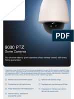 9000-PTZ-Dome Datasheet A4 New