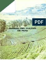 Manual del cultivo de papa