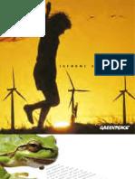 Informe Anual de Greenpeace 2005