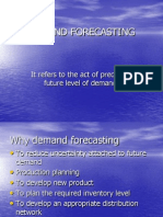 Demand Forecasting