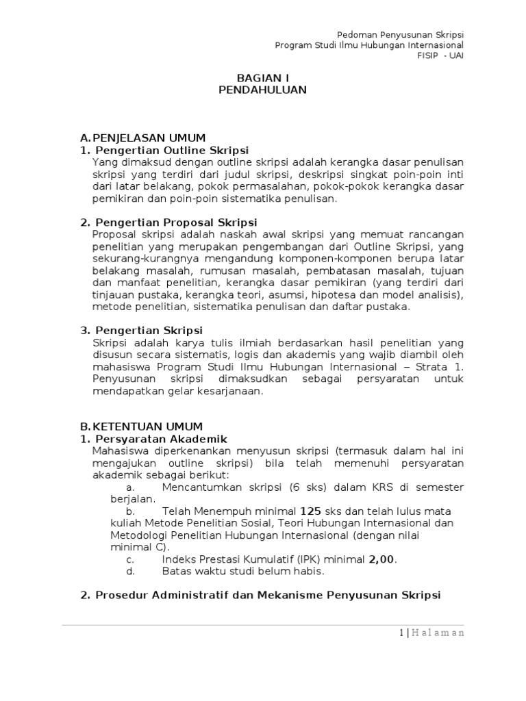 Contoh Soal Dan Materi Pelajaran 9 Contoh Skripsi Kuliah