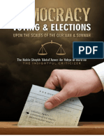 Democracy, Elections and Voting Upon The Scales of The Qur'aan and Sunnah Shaykh Abdul-Aziz Al-Bura'ee hafithahul-llah