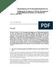 Bericht Schweizer Bundesrat